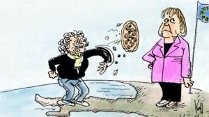 Grillo Merkel