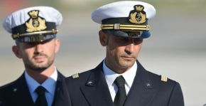 Italian marines questioned by the Italian prosecutor