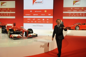 """Ferrari, Montezemolo: """"F138 living up to expectations. But let's keep our feet on theground"""""""