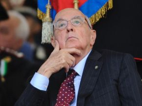 Italian President Napolitano Calls for Unity of Political Forces