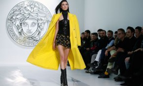 Versace brings UK anarchy to Italy