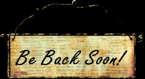 We'll be backsoon